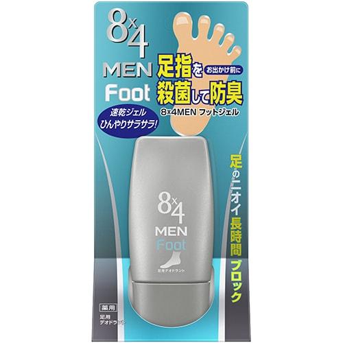 8×4 MEN フットジェル 30g [フットケア]