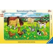 060467 農場の動物たち 15ピース
