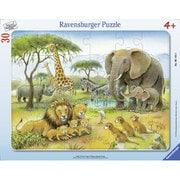 061464 サバンナの動物たち 30ピース