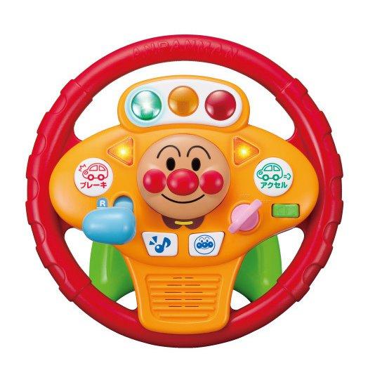 アンパンマン ミュージックでGO!のりのりドライブハンドル [2歳以上]