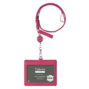 CRID-02-P [Colorim PERKY(カラリムパーキー) IDケース(リール付) ピンク]