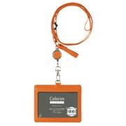 CRID-02-O [Colorim PERKY(カラリムパーキー) IDケース(リール付) オレンジ]