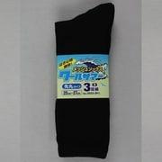 3933-3P-L 黒 クールサマーメッシュソックス 先丸 3足組