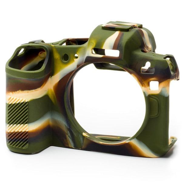 イージーカバー Canon EOS R用 カモフラージュ [カメラ用シリコンカバー]