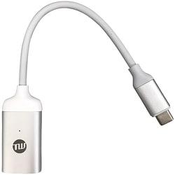 TUN-OT-000044 [USB-C to Mini DP 変換アダプター シルバー]