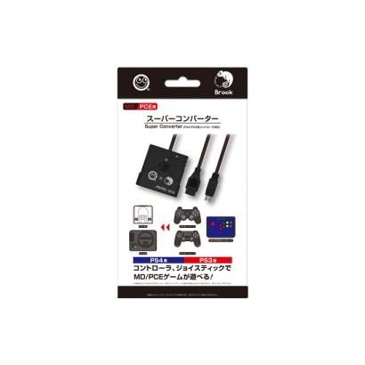 CC-MLSCV-BK [MD/PCE用 スーパーコンバーター PS4/PS3用コントローラ対応]