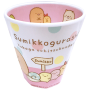SG5557587 Wプリントメラミンカップ ドット ピンク すみっコぐらし