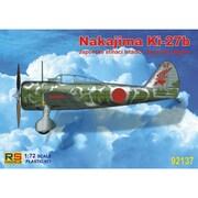 92137 中嶋 キ27 97式戦闘機 [1/72スケール プラモデル]