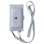 AB-0992-IP67-PURP [iPhone 8/7/6s/6 手帳型ケース HONEY MI HONEY ハニーミーハニー Gizmobies ギズモビーズ letter book iPhone case SAX]