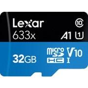 LSDMI32GBBAP633A [Lexar High-Performance 633x microSDHC UHS-I カード 32GB]