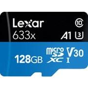 LSDMI128BBAP633A [Lexar High-Performance 633x microSDXC UHS-I カード 128GB]