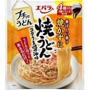 プチッとうどん 焼うどん コクうま醤油味 22g×4