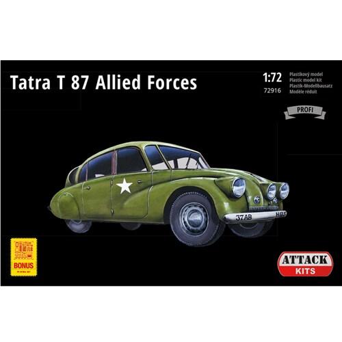 AHK72916 1/72 タトラ T87 連合軍 [プラモデル]