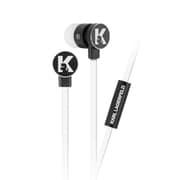 KLEPWIWH [3.5mmステレオイヤホンマイク ブラック/ホワイト]