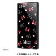 IQ-DP7K1B/MN005 [iPhone 8/7 耐衝撃ガラスケース KAKU/ミニーマウス/OTONA BLACK]