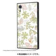 IQ-DP18K1B/PO008 [iPhone XR 耐衝撃ガラスケース KAKU/くまのプーさん/ナチュラル]