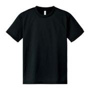 4.4oz ACT ドライTシャツ 00300CB 005_ブラック LLサイズ [半袖Tシャツ]