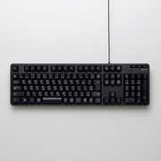 TK-FCM104BK [有線フルキーボード USB接続 メンブレン式 日本語配列 109キー ブラック]