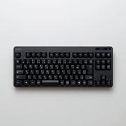 TK-FDM105TBK [無線コンパクトキーボード USBレシーバー付属 メンブレン式 日本語配列 92キー ブラック]