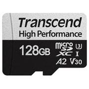 TS128GUSD330S [micro SDXCカード アダプタ付 UHS-I U3 V30 A2 ハイパフォーマンス 128GB]
