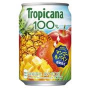 トロピカーナ 100% マンゴー&パイン 280g缶×24本