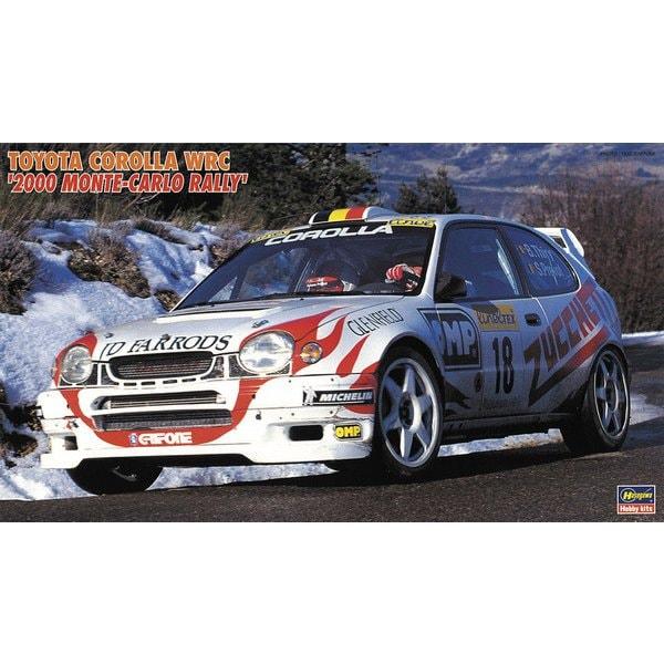 カーモデルシリーズ 20396 トヨタ カローラ WRC 2000 モンテカルロラリー [1/24 プラモデル]