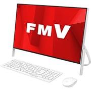 FMVF70D1WC [デスクトップパソコン ESPRIMO FHシリーズ/23.8型ワイド/Corei7+8750H/メモリ 8GB/HDD 1TB+Optaneメモリー 16GB/DVDドライブ/Windows 10 Home 64ビット/Office Home and Business 2019/ホワイト/ヨドバシカメラオリジナルモデル]