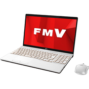 FMVA77D1W [ノートパソコン LIFEBOOK AHシリーズ/15.6型ワイド/Corei7-8565U/メモリ 8GB/SSD 128GB + HDD 1TB/Blu-rayドライブ/Windows 10 Home 64ビット/Office Home and Business 2019/プレミアムホワイト]