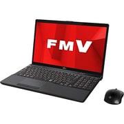 FMVA77D1B [ノートパソコン LIFEBOOK AHシリーズ/15.6型ワイド/Corei7-8565U/メモリ 8GB/SSD 128GB + HDD 1TB/Blu-rayドライブ/Windows 10 Home 64ビット/Office Home and Business 2019/ブライトブラック]