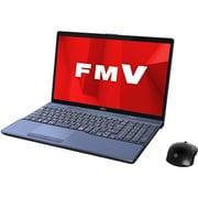 FMVA77D1LC [ノートパソコン LIFEBOOK AHシリーズ/15.6型ワイド/Corei7-8565U/メモリ 8GB/SSD 512GB/Blu-rayドライブ/Windows 10 Home 64ビット/Office Home and Business 2019/メタリックブルー/ヨドバシカメラオリジナルモデル]
