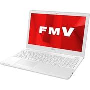 FMVA50D1WP [ノートパソコン LIFEBOOK AHシリーズ/15.6型ワイド/Corei7-7700HQ/メモリ 4GB/HDD 1TB/DVDスーパーマルチ/Windows 10 Home 64ビット/Office Home and Business 2019/プレミアムホワイト]