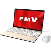 FMVA45D1GC [ノートパソコン LIFEBOOK AHシリーズ/15.6型ワイド/Corei3-7100U/メモリ 8GB/SSD 256GB/DVDドライブ/Windows 10 Home 64ビット/Office Home and Business 2019/シャンパンゴールド/ヨドバシカメラオリジナルモデル]