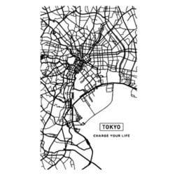 SC-CM01 [スマートバッテリー 4000mAh CITY MAP TOKYO]