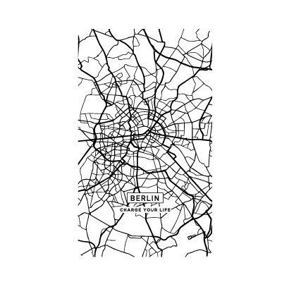 SC-CM02 [スマートバッテリー 4000mAh CITY MAP BERLIN]