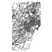 SC-CM03 [スマートバッテリー 4000mAh CITY MAP BARCELONA]