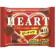 不二家 ハートチョコレート ピーナッツ ミニMP 42g [チョコレート]