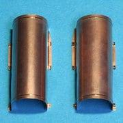 P35-109 ティーガーI型排気管カバー中期型/後期型 タミヤMM35146/35194/35202/35177用 [1/35スケール プラモデル用パーツ]