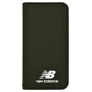 md-74263-2 [iPhoneXR New Balance シンプル手帳ケース/カーキ]