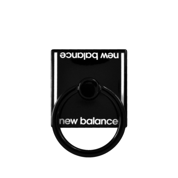 md-74264-1 [New Balance スマホリング/ベーシック/ブラック]