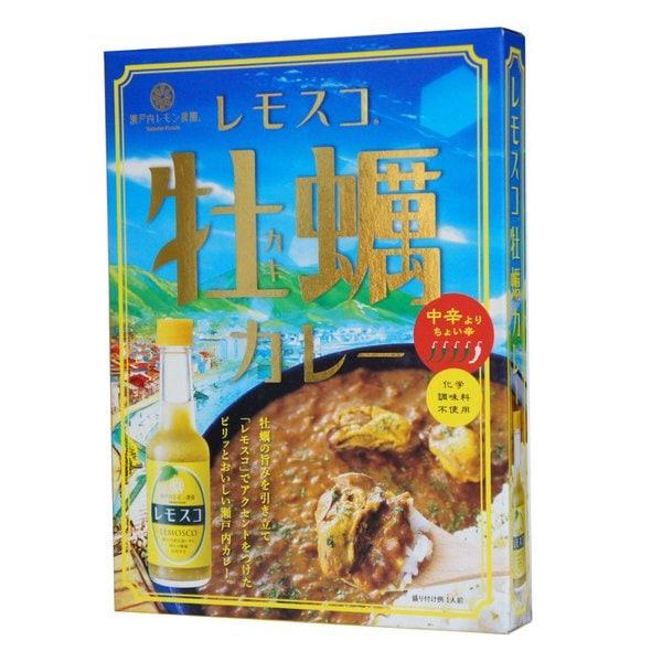 レモスコ 牡蠣カレー 200g [レトルトカレー]