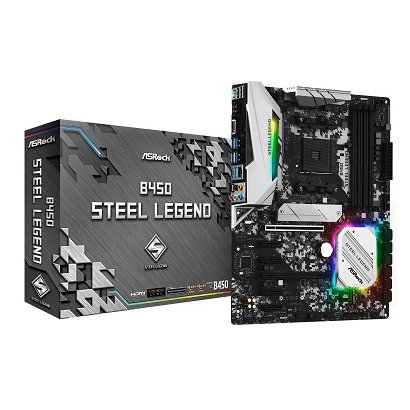 B450 Steel Legend [ATX マザーボード AMD B450チップセット SocketAM4]
