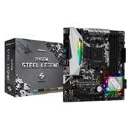 B450M Steel Legend [Micro ATX マザーボード AMD B450チップセット SocketAM4]