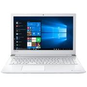 P1X4JDDW [Dynabook X4/15.6型/Celeron 3867U/メモリ 4GB/SSD 256GB/Windows 10 Home 64bit/Microsoft Office Personal 2019/リュクスホワイト オリジナルモデル]