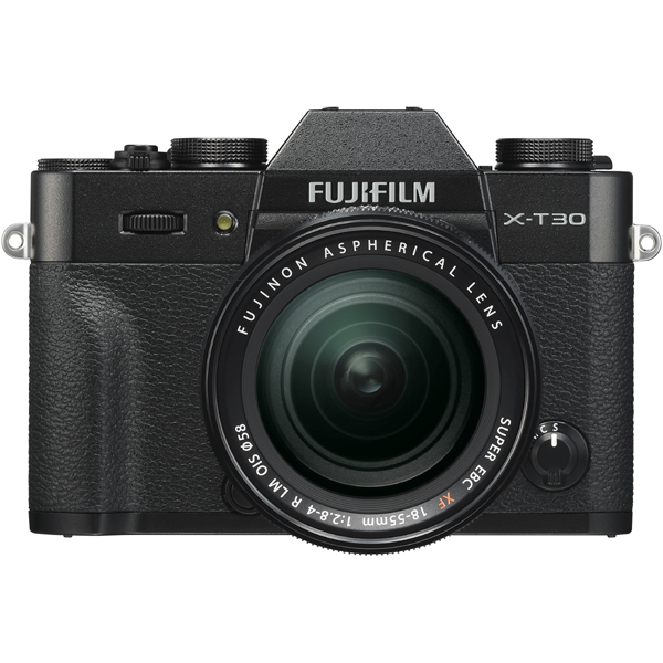 FUJIFILM X-T30 XF18-55mm レンズキット ブラック [ボディ+交換レンズ「XF18-55mmF2.8-4R LM OIS ブラック」]