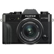 FUJIFILM X-T30 XC15-45mm レンズキット ブラック [ボディ+交換レンズ「XC15-45mm F3.5-5.6 OIS PZ ブラック」]