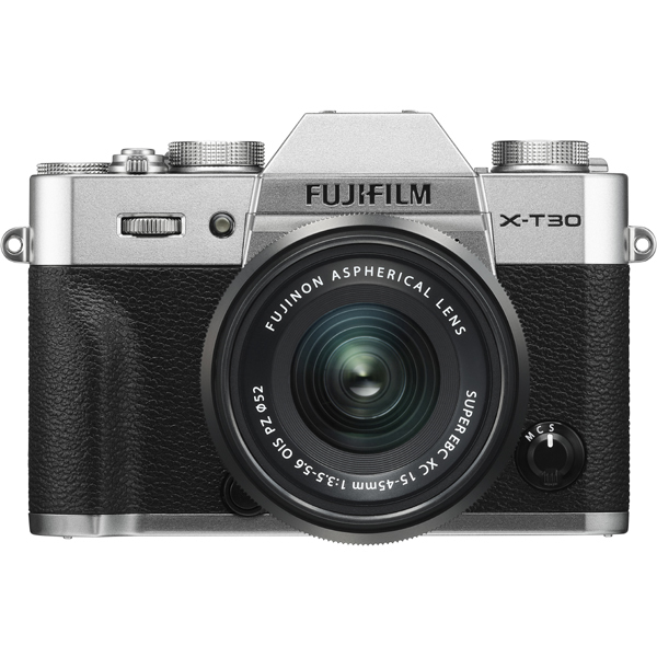 FUJIFILM X-T30 XC15-45mm レンズキット シルバー [ボディ+交換レンズ「XC15-45mm F3.5-5.6 OIS PZ ブラック」]