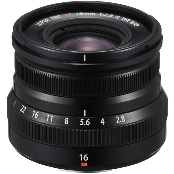 XF16mm F2.8 R WR ブラック [フジノンレンズ 16mm/F2.8 富士フイルムXマウント]