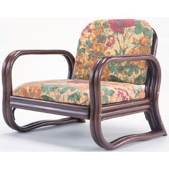 FL03630 [天然籐思いやり座椅子 ロータイプ]