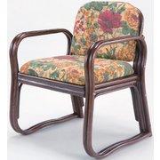 FL03632 [天然籐思いやり座椅子 ハイタイプ]