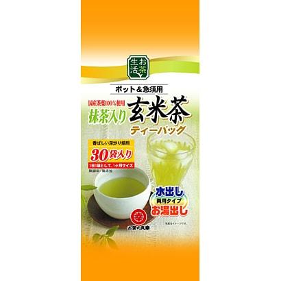 お茶生活抹茶入り玄米茶 (3.5g×30p)105g